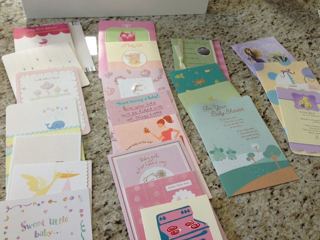 Baby Shower Arts And Crafts Part - 28: DIY: Transform Your Baby Shower Cards Into Nursery Art!