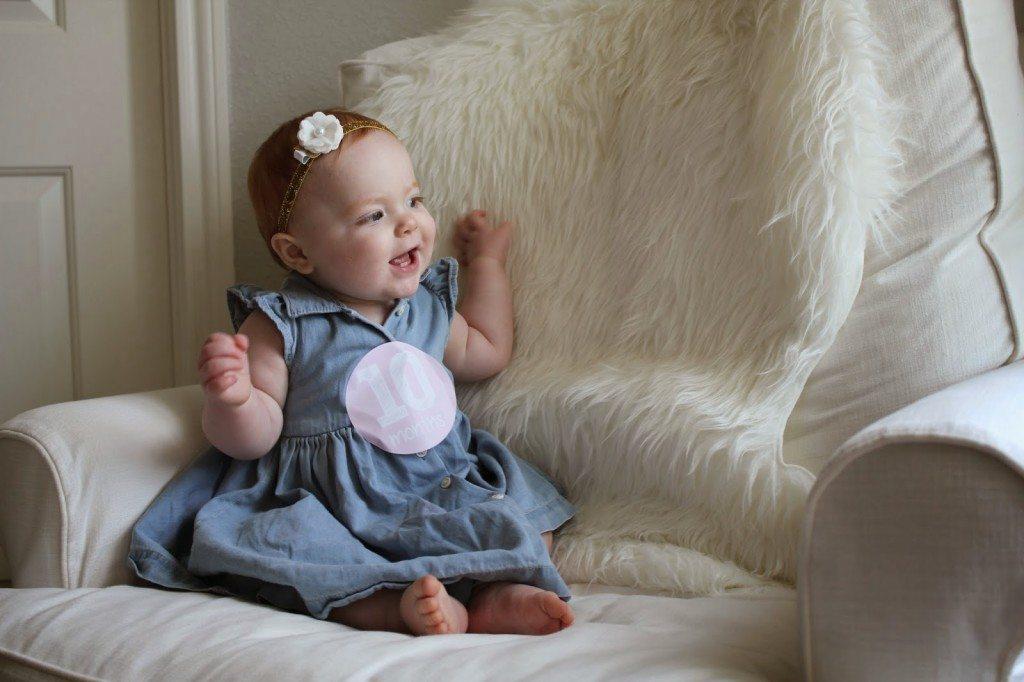 ff31f08a9274 Harper Reese- 10 Months Old! - Veronika's Blushing