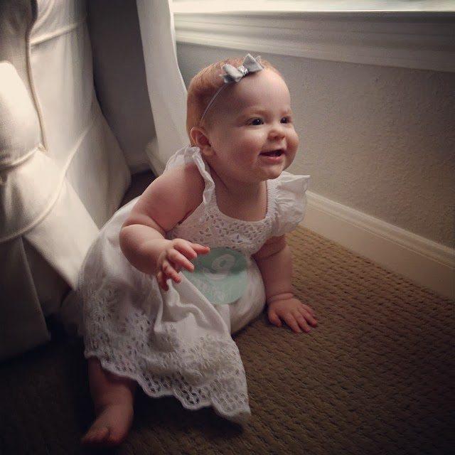 c93ceb5e70b2 Harper Reese- 9 Months Old! - Veronika's Blushing
