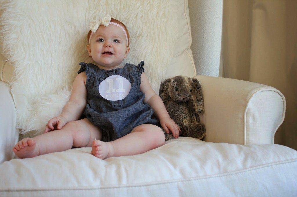 d1ce33716956 Harper Reese- 11 Months Old! - Veronika's Blushing