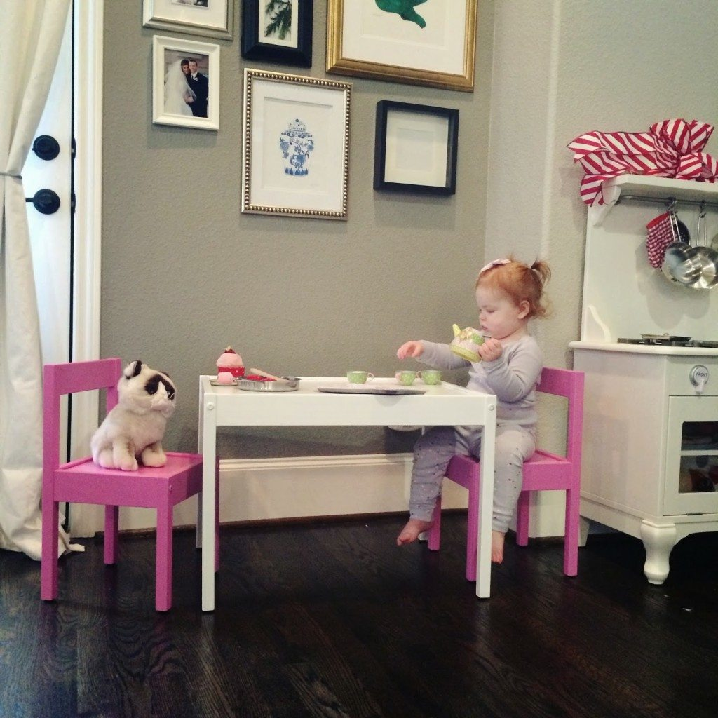 Ikea kids table and chairs - Ikea Hack L Tt Playtable Chairs